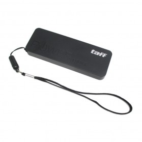 Taff Power Bank 3000mAh Model Super Thin Keychain MP30 for Smartphone - Black