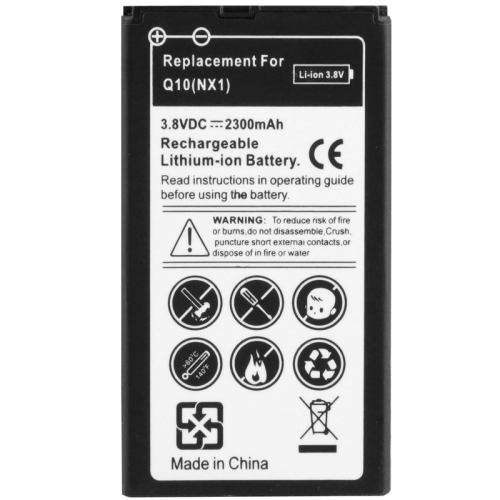 ... Replacement Business Battery 2300mAh for Blackberry Q10 - Black - 1 ...