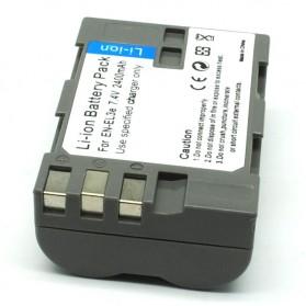 Baterai Kamera NIKON EN-EL3e (Replika 1:1) - Gray - 2