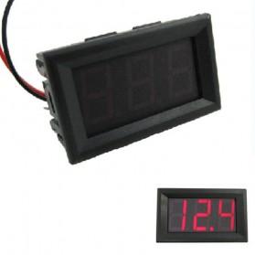 ATORCH Alat Pengukur Tegangan Listrik Voltmeter LED - 123 - Black - 2