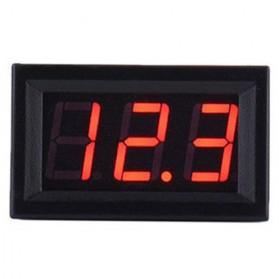 ATORCH Alat Pengukur Tegangan Listrik Voltmeter LED - 123 - Black - 3