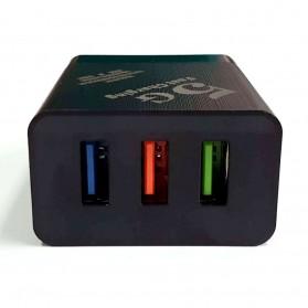 CARPRIE Charger USB Fast Charging 3 Port 2.4A - ZP180 - Black - 2