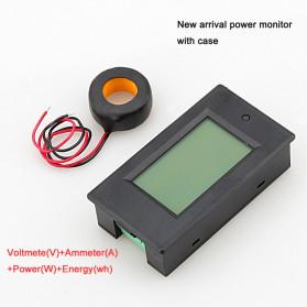VBESTLIFE Alat Pengukur Listrik Power Voltmeter Accurate Ammeter LED Display 100A - GN-0118 - Black - 2
