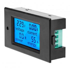 VBESTLIFE Alat Pengukur Listrik Power Voltmeter Accurate Ammeter LED Display 100A - GN-0118 - Black - 5