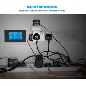 VBESTLIFE Alat Pengukur Listrik Power Voltmeter Accurate Ammeter LED Display 100A - GN-0118 - Black - 7