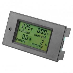 VBESTLIFE Alat Pengukur Listrik Power Voltmeter Accurate Ammeter LED Display 100A - GN-0118 - Black - 9