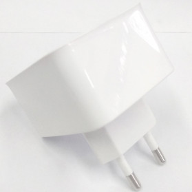 Olaf USB Charger Rotary Plug 2 Port 2.1A - CHJ-814D - White
