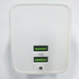 Olaf USB Charger Rotary Plug 2 Port 2.1A - CHJ-814D - White - 3