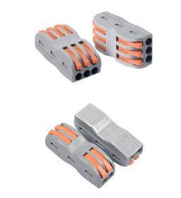 Guillermo Terminal Block Konektor Sambungan Kabel Listrik Plug-in Wire Connector - PCT-215 - Gray - 8