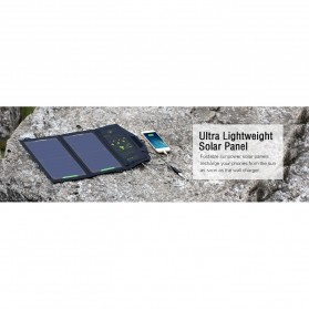 ALLPOWERS USB Foldable Solar Powered Charger 2 Panel 10W - AP-SP5V - Black - 7