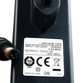 UMEC Power Adaptor 12V 1.5A 18W - UP0181B-12PE - Black - 2