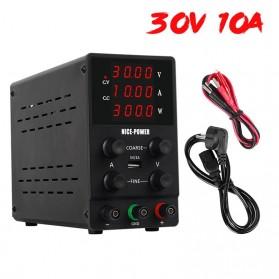NICE-POWER Adjustable DC Power Supply 30V 10A - SPS3010 - Black