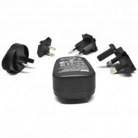 Tablet Charger & Travel Charger - Adaptor Charger Sunny 1.6A USB with EU UK US AU Plug - Black