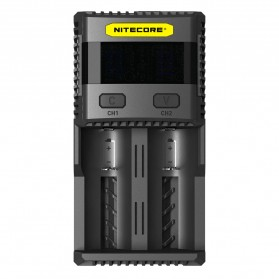 Nitecore Superb Speedy Battery Charger 2 Slot 3A for Li-ion and NiMH - SC2 - Black
