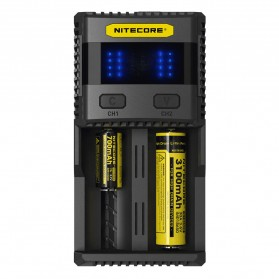 Nitecore Superb Speedy Battery Charger 2 Slot 3A for Li-ion and NiMH - SC2 - Black - 2