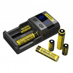 Nitecore Superb Speedy Battery Charger 2 Slot 3A for Li-ion and NiMH - SC2 - Black - 5