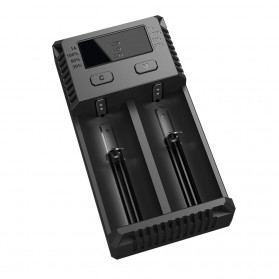 Nitecore Intellicharger Universal Battery Charger 2 Slot for Li-ion and NiMH - New i2 - Black - 4