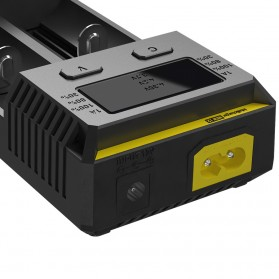 Nitecore Intellicharger Universal Battery Charger 2 Slot for Li-ion and NiMH - New i2 - Black - 5