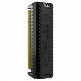NITECORE Flexible Charger Baterai 1 Slot with Power Bank - F1 - Black - 5