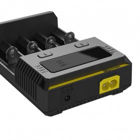 Nitecore Intellicharger Universal Battery Charger 4 Slot for Li-ion and NiMH - New i4 - Black - 4