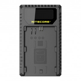 Nitecore UCN1 Dual Slot Travel Charger for Canon - Black