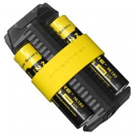 NITECORE Flexible Charger Baterai 2 Slot with Power Bank - F2 - Black - 5