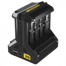 Nitecore Intellicharger Universal Battery Charger 8 Slot for Li-ion and NiMH - i8 - Black - 3