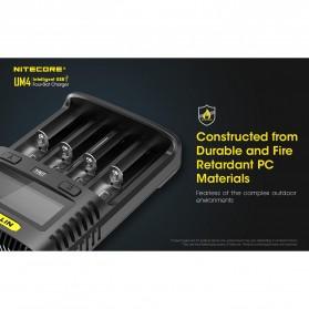 Nitecore Intelligent USB Charger Baterai 4 Slot Li-ion NiMH - UM4 - Black - 6