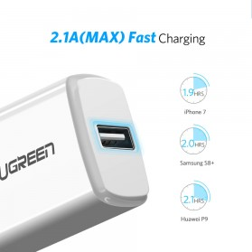 UGREEN Charger USB 1 Port 2.1A - FJ-SW26 - Black - 2