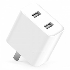 Xiaomi Charger USB 2 Port 2A - White - 2