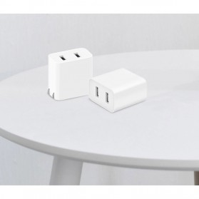 Xiaomi Charger USB 2 Port 2A - White - 5