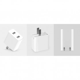 Xiaomi Charger USB 2 Port 2A - White - 6