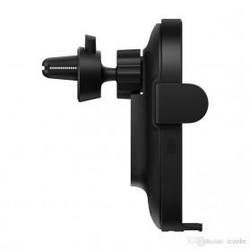 Xiaomi Millet Car Holder Qi Wireless Charger Fast Charging 20W - WCJ02ZM - Black - 4