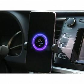 Xiaomi Millet Car Holder Qi Wireless Charger Fast Charging 20W - WCJ02ZM - Black - 5