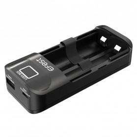 Efest Lush Box Charger Baterai Intelligent 2 Slot - Black - 3