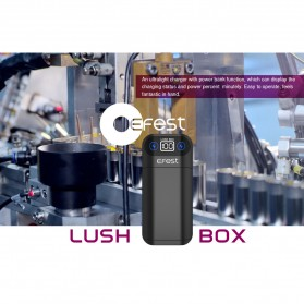 Efest Lush Box Charger Baterai Intelligent 2 Slot - Black - 5