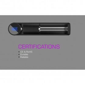 Efest Slim K1 Charger Baterai Intelligent for 10440 / 14500 / 14650 / 16340 - Black - 7