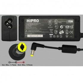 Adaptor ACER 19V 3.42A HIPRO - HP-A0653R3B - Black - 2