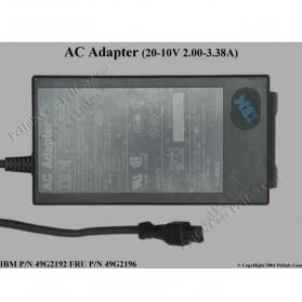 Adaptor IBM Lenovo 20-10V 2-33.8A 49G2196 - Black