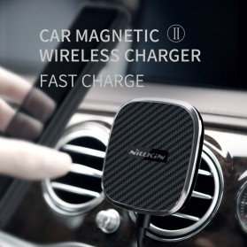 Nillkin Car Magnetic Qi Wireless Charger II Fast Charging - Model A - Black