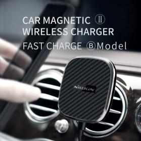Nillkin Car Magnetic Qi Wireless Charger II Fast Charging - Model B - Black