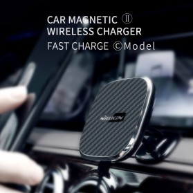 Nillkin Car Magnetic Qi Wireless Charger II Fast Charging - Model C - Black
