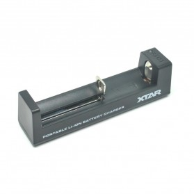 Xtar MC1 Portable Micro USB Battery Charger 1 Slot for Li-ion - Black