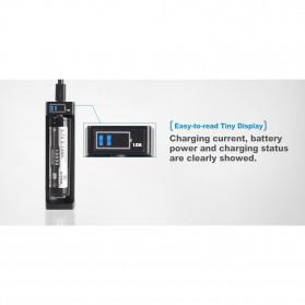 Xtar ANT-MC1 Plus Portable Micro USB Battery Charger 1 Slot for Li-ion - Black - 3