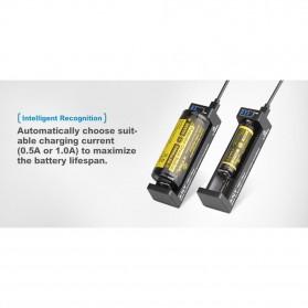 Xtar ANT-MC1 Plus Portable Micro USB Battery Charger 1 Slot for Li-ion - Black - 4