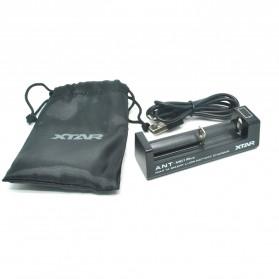 Xtar ANT-MC1 Plus Portable Micro USB Battery Charger 1 Slot for Li-ion - Black - 8