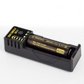 Xtar BC1 Portable Micro USB Battery Charger 1 Slot for Li-ion - Black - 2