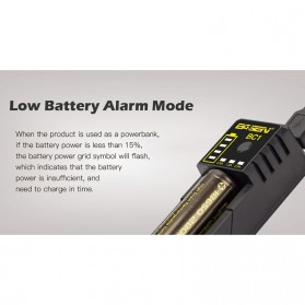 Xtar BC1 Portable Micro USB Battery Charger 1 Slot for Li-ion - Black - 6