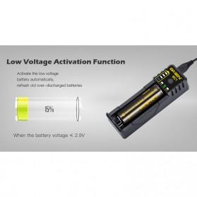 Xtar BC1 Portable Micro USB Battery Charger 1 Slot for Li-ion - Black - 7