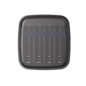 Xtar Charger Baterai Portable USB Type C 4 Slots 1.5V for Li-ion AA AAA Ni-Mh - BC4 - Black - 2